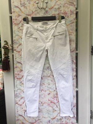 Blue Fire Pantalón de cinco bolsillos blanco