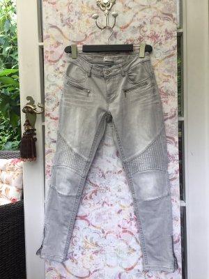 Blue Fire Pantalón de cinco bolsillos gris claro
