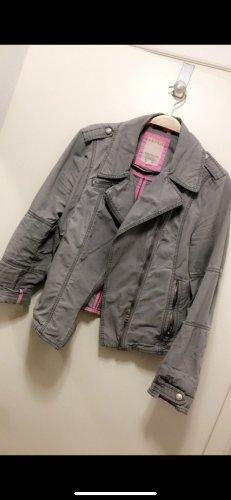 Esprit Spijkerblazer grijs-roze