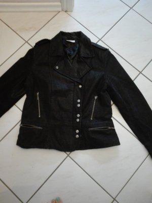 Bikerjacke 44 schwarz