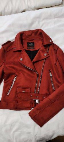Ckh clockhouse Leather Jacket russet