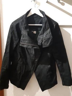 H&M Divided Veste motard noir