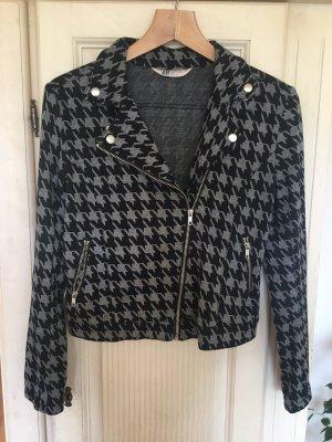 Biker Jacket black-grey
