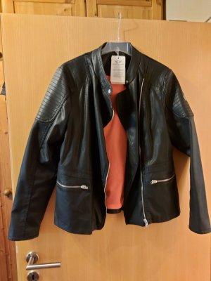 Fritzi aus preußen Faux Leather Jacket black