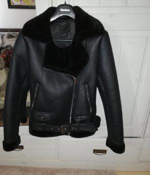 Yessica Kurtka typu biker czarny