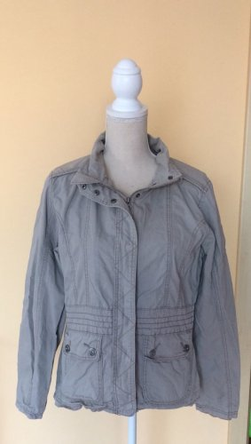 Gina Benotti Biker Jacket light grey
