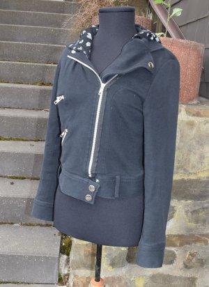 Biker Jacket black cotton