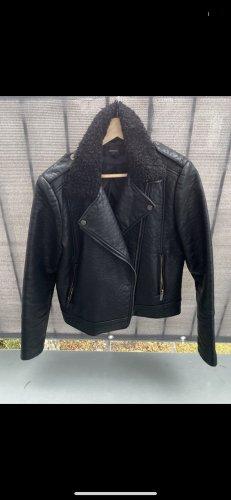Mango Veste motard noir
