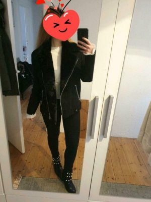 H&M Chaqueta holgada negro