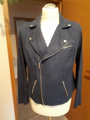 BC Collection Biker Jacket dark blue cotton
