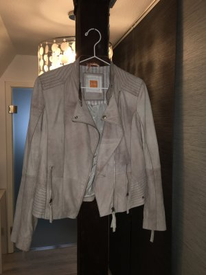 Bikerjacke von Hugo Boss in altrosa