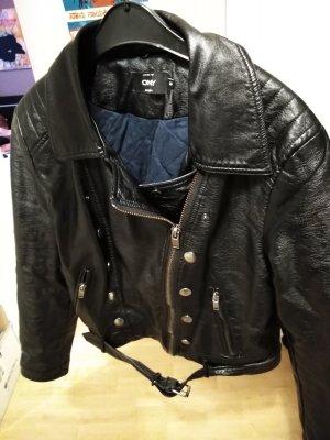Only Biker Jacket black viscose