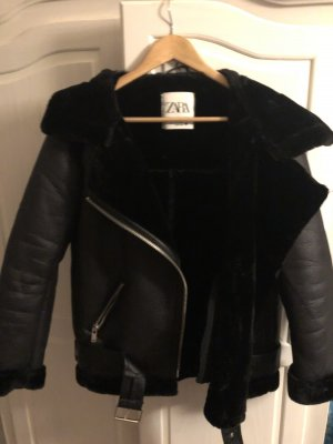 Zara Bikerjack zwart
