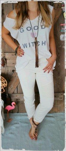 edc by Esprit Biker Jeans natural white