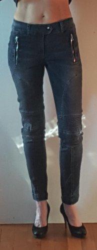 Dondup Biker Jeans grey cotton