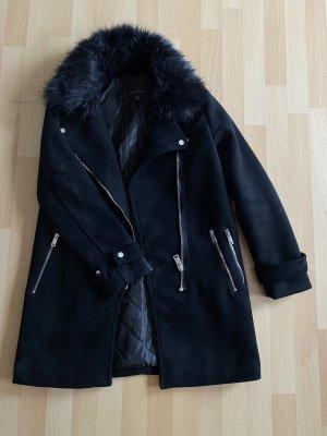 Amisu Winter Coat black