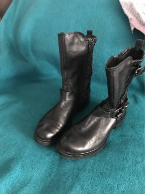 Tamaris Western Booties black imitation leather