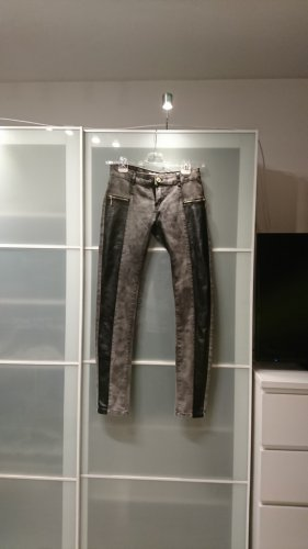 Rose Player Boot Cut Jeans dark grey