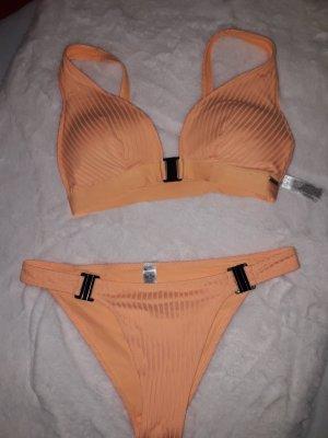 Bikini orange doré