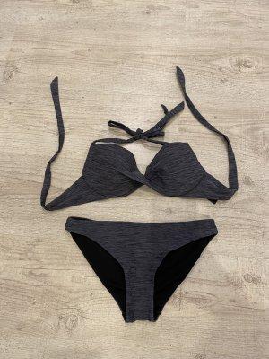 H&M Bikini grigio-grigio chiaro