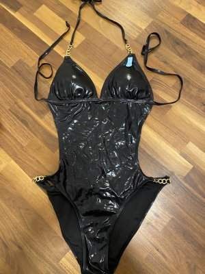 NewYorker Bikini czarny-złoto