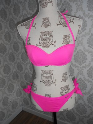 3 Suisses Bikini różowy neonowy