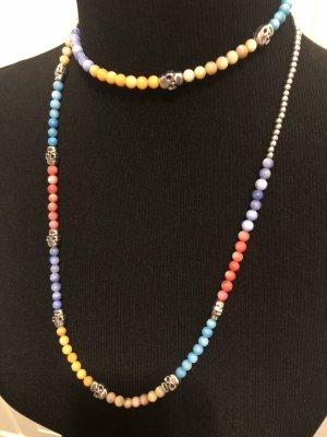fashion jewelery Collier incrusté de pierres multicolore