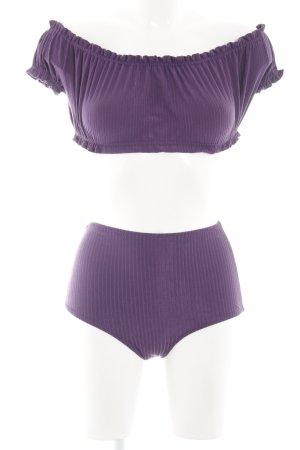 Bikini dunkelviolett