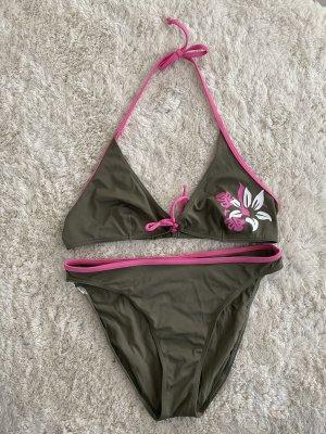 Rodeo Bikini pink-green grey