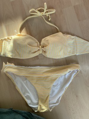 H&M Bikini geel-lichtgeel