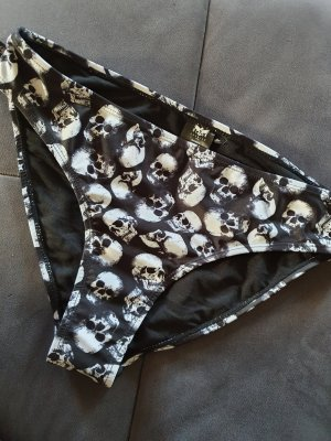 Black by EMP Bikini blanc-noir