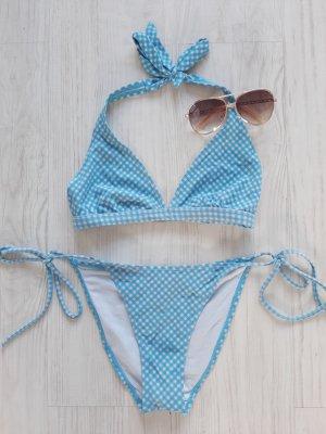 Bikini kariert *blau weiß*