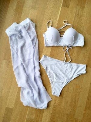 SheIn Bikini white