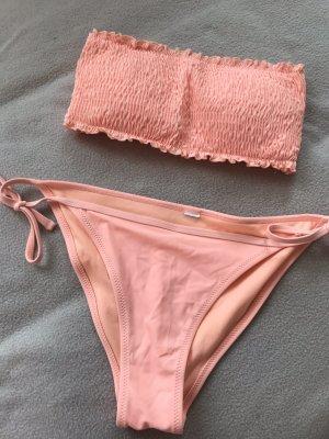 Censored Bikini apricot