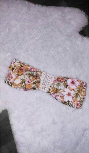 Bikini oberteil floral blumen bademode h&m