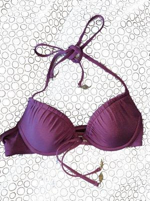 Bikini Oberteil Pflaumenfarben 75A