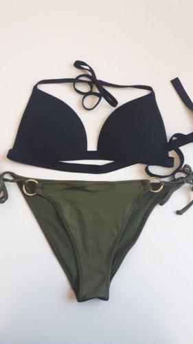 Bikini Olive/schwarz