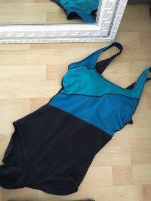 Bikini schwarz -blau