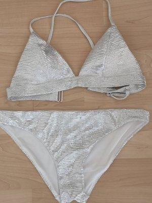 H&M Bikini zilver