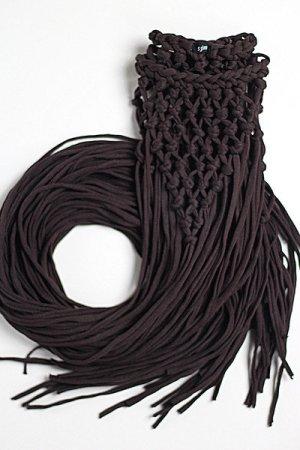 Strój kąpielowy (sukienka) ciemnobrązowy