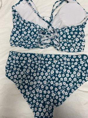 SheIn Bikini turquoise