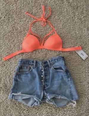 Bikini arancio neon