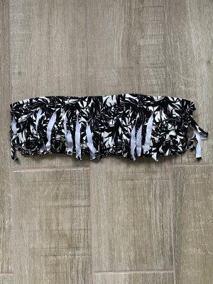 Bikbok Bikini noir-blanc