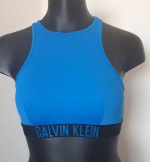 Calvin Klein Bikini czarny-niebieski neonowy