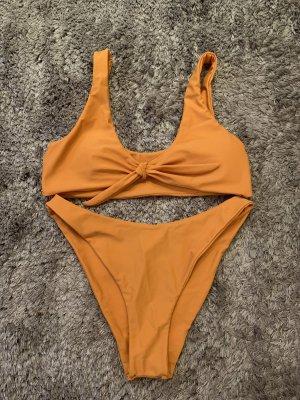 Bikini gold orange