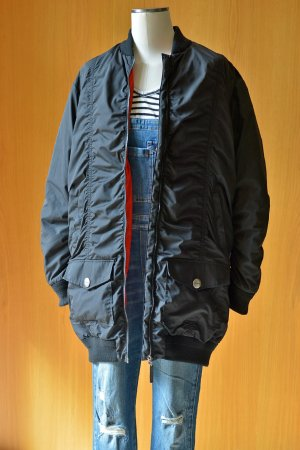 Bikkembergs Winter Jacket black-orange polyester