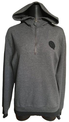 Bikkembergs Hooded Sweater grey-black