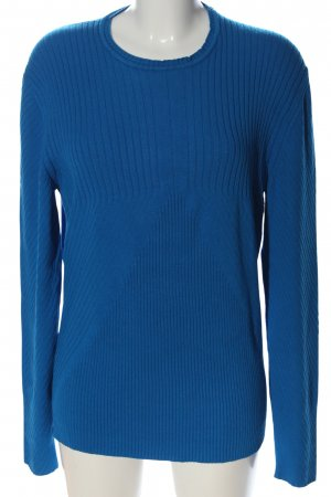 Bikkembergs Crewneck Sweater blue casual look