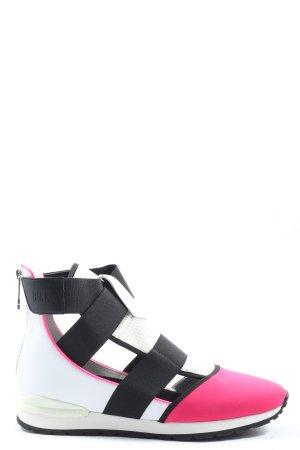 Bikkembergs Slip-on Sneakers themed print casual look