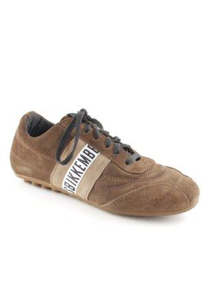 Bikkembergs Schnürschuhe schwarz-braun sportlicher Stil